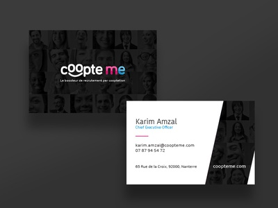 Coopte Me business card