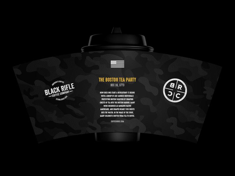 Black Rifle Coffee Cup