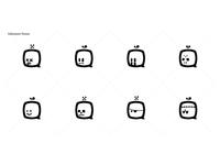 Gane Logo Emoji Set: Halloween Themed