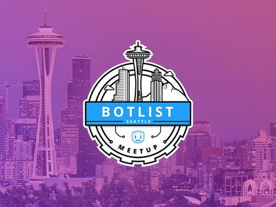 Seattle BotList Meetup Sticker