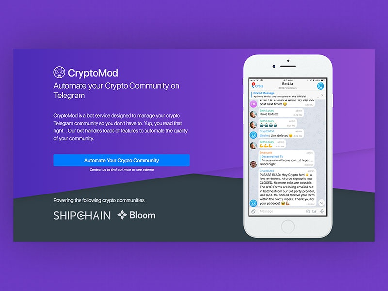 Cryptomod website