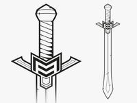 Branded Sword