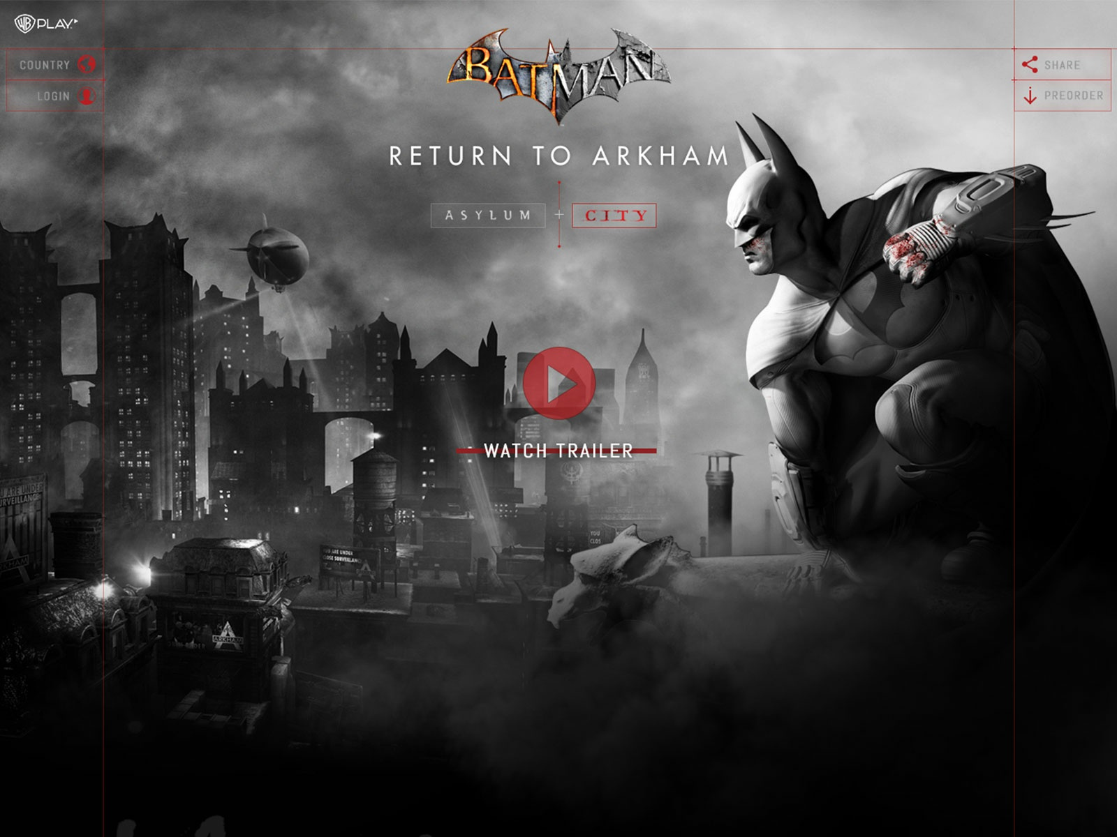 Batman website