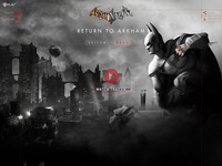 Batman: Return to Arkham Website