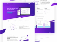Community SaaS Product Landing Page