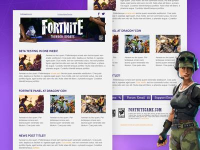 Fortnite Newsletter