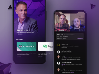 Pitch Investors Live Mobile App