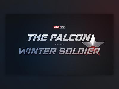 The Falcon and the Winter Soldier Logo concept design branding logo identity brand winter soldier falcon marvel studios marvel