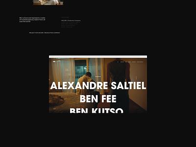 HKCORP 2018 PROJECT layout website webdesign ui motion minimal design