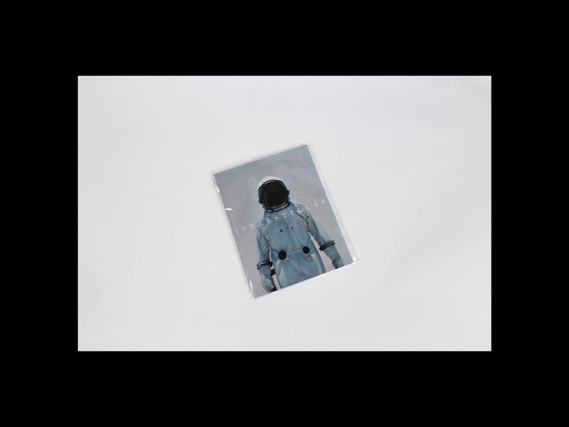 Interstellar 10/16 — graphic abstract book print interstellar minimal design motion animation