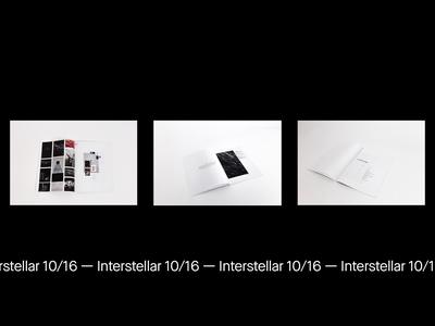 Interstellar 10/16 —