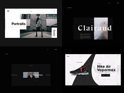 2018 2d webdesign ux ui skew branding website web logo book typography print abstract gif layout graphic animation motion minimal design