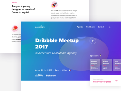 Dribbble Meetup 🎊