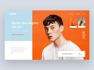 Atelier New Regime 🔸 + Dribbble Invite