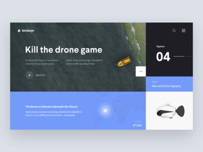 Drone Game 🕹 • Freebie