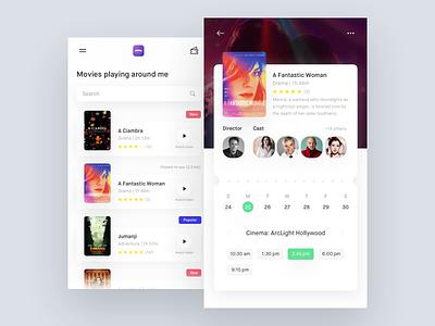Movies 📍 iphone store movie interface digital app mobile ux ui