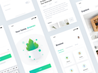 Plant 🌿 • Freebie + 4 Dribbble Invites