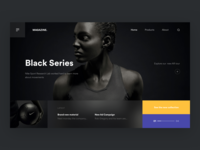 Black Series ⚫️ + 2 Dribbble Invites