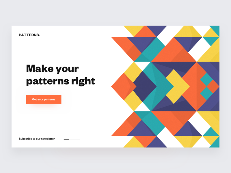 Patterns ◻️ product landing colors palette colors patterns grids grid layout desktop web