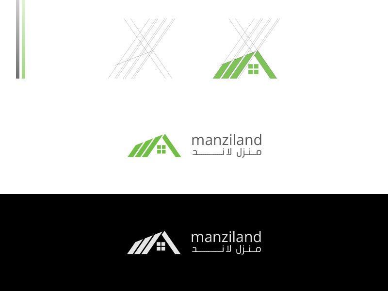 Manziland Branding real estate branding real estate real estate logo branding logotype logomark logo brand