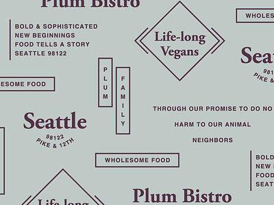 Plum Bistro plum seattle type elements vegan