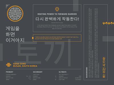 Dva Online hangul korean layout grid d.va dva overwatch type