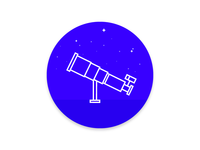 Telescope Illustration
