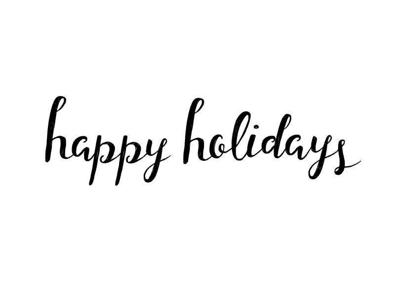 Happy Holidays By Ray Of Light Design