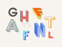 3D Letters Experiment
