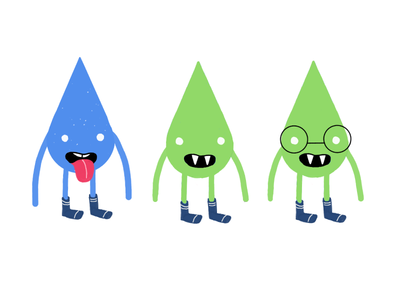 Pointy Monsters Concept