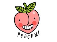 Peach [STICKER DESIGN]