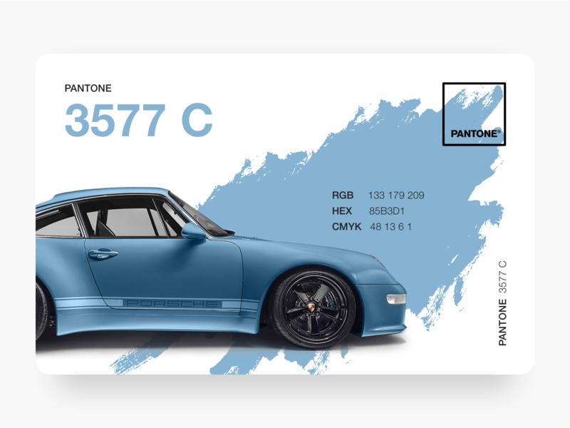 Pantone Porsche