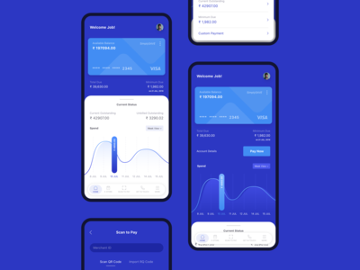 Credit Card App UI