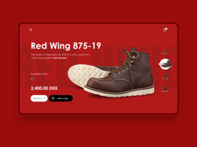 🥾 Shoe Shoping | Product detail screen