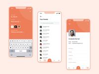 Bill Split App UI Concept