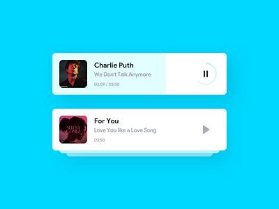 Music playlist music player music app ios android app app ux concept design ui