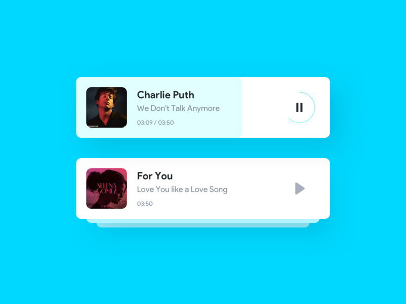 Music playlist music player music app ios android app app ux concept design ui
