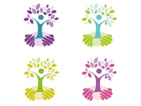 CareSouth 'Tree' Logo - Variations