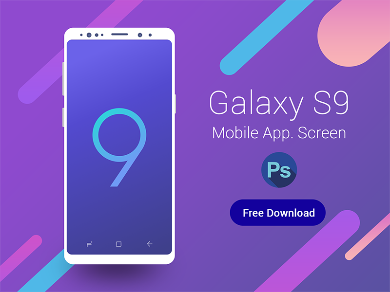 Mockup hands with iphone and samsung sketch freebie download.