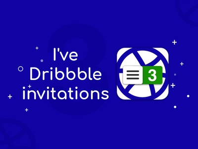 There  Dribbble Invite