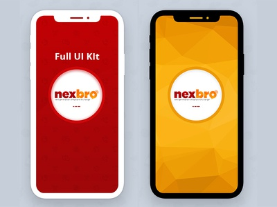 Splash screen Design for Nexbro (Calling Application)