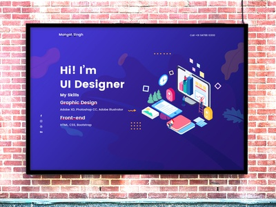 UI UX Designer Portfolio Design | Experienced Designer