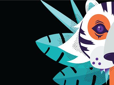 Tiger dribbble