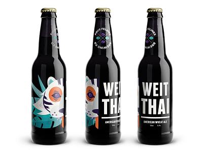 Beer & Branding beer and branding aiga illustration tiger bottle branding beer