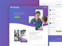 Staffing Website