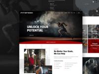 Gym Homepage