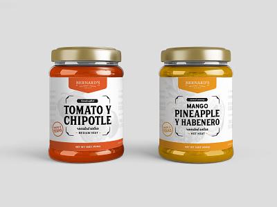 Salsa Labels by Ashley Morgan on Dribbble