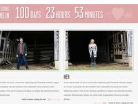Wedding Website Part II