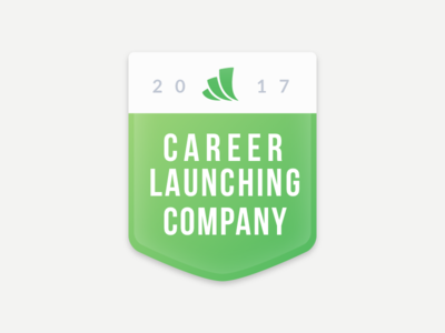 Career Launching Company Badge
