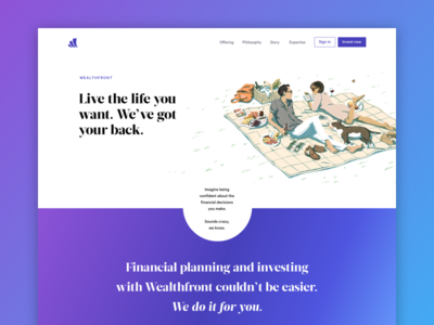 Wealthfront Rebrand